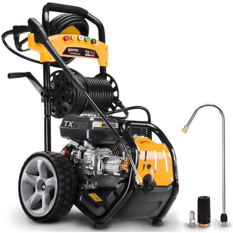 Wilks-USA TX750i - 8,0 hp - 3950 psi / 272 Bar Nettoyeur Haute Pression