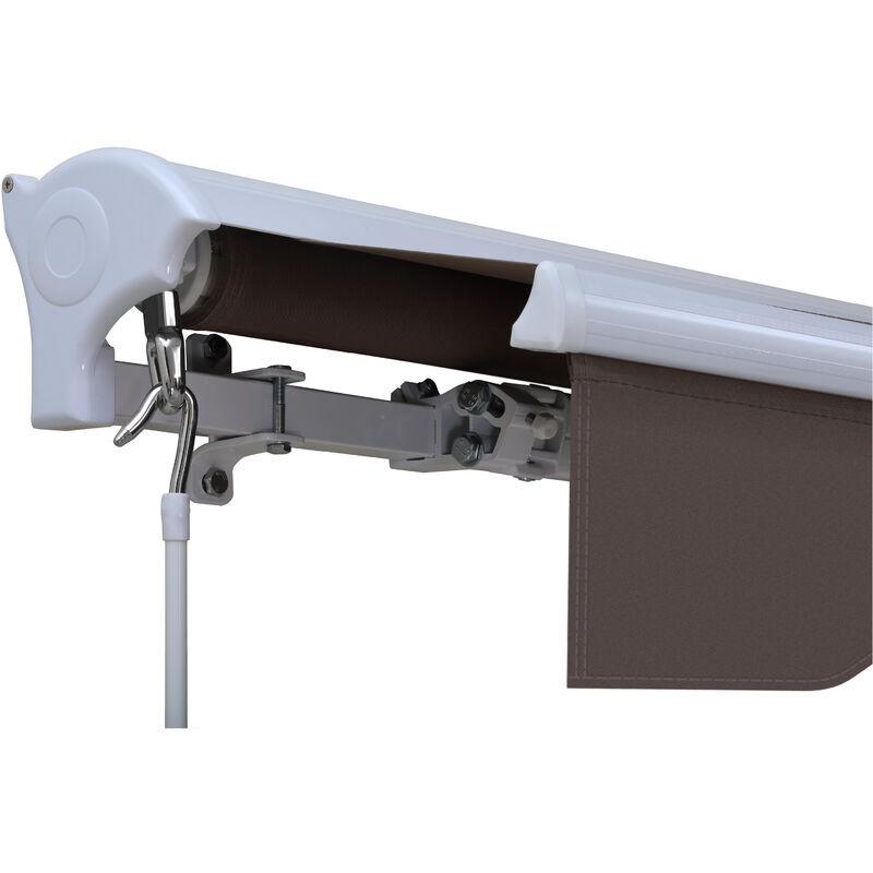 SAV Store banne manuel semi coffre taupe 3X2m SKD (Semi Knock Down) - SAV