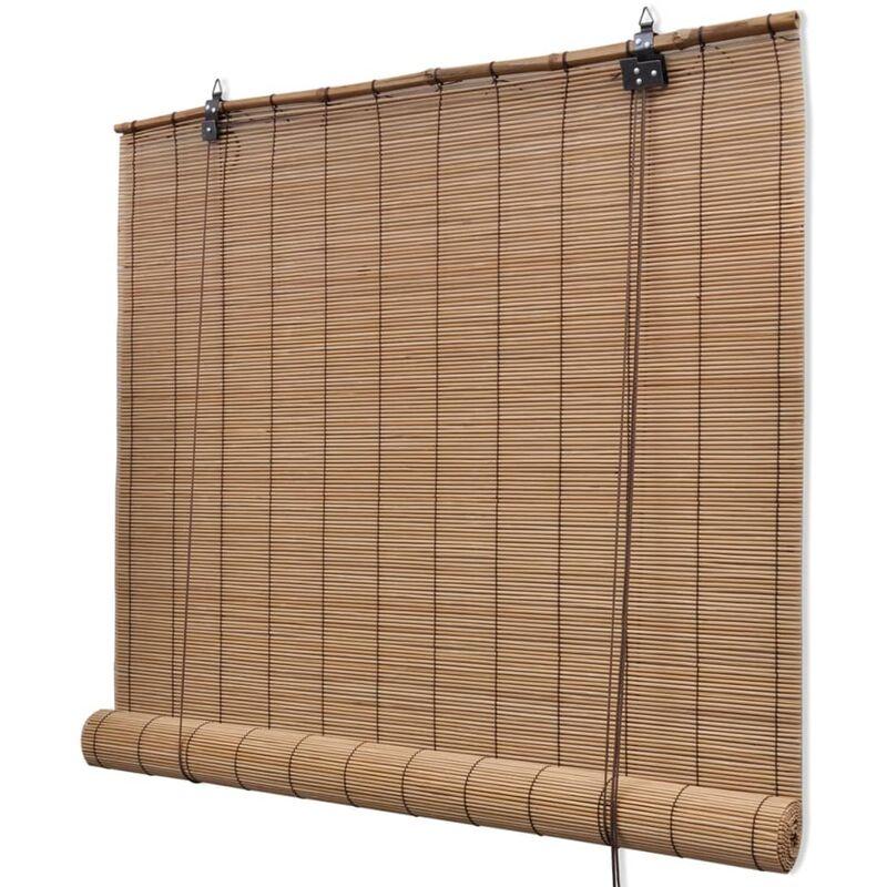 YOUTHUP Store roulant Bambou 100 x 160 cm