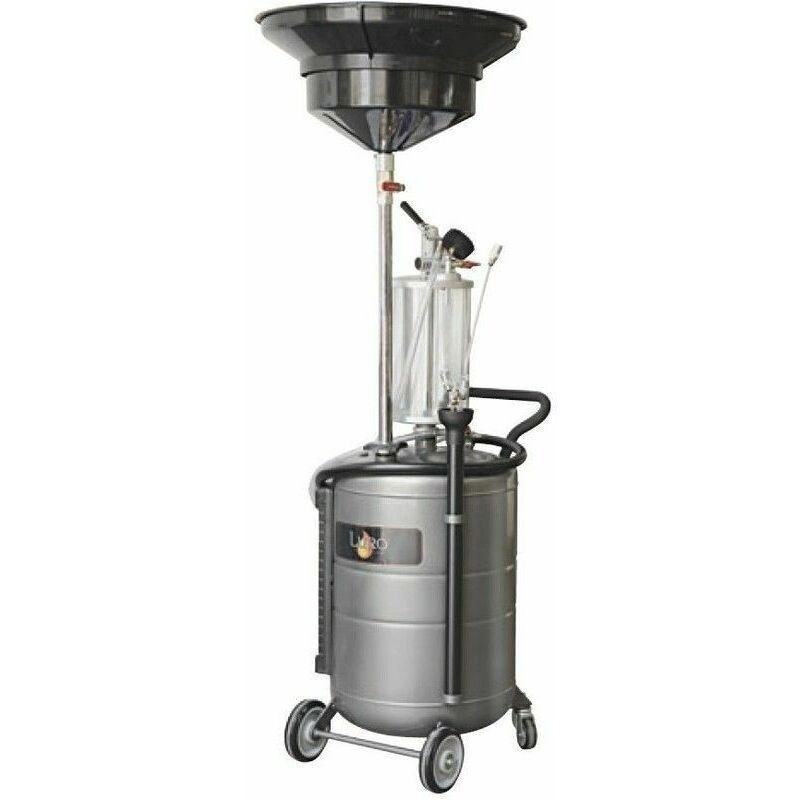 LURO Aspirateur – récupérateur d'huile 100 litres avec pré-chambre - Luro