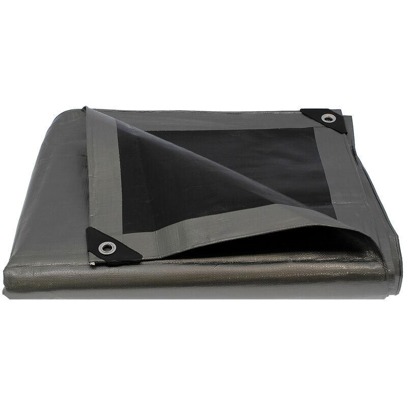 GT MARKET Bâche de protection ultra résistante - 260 g/m² - 5 x 8 mètres - GT