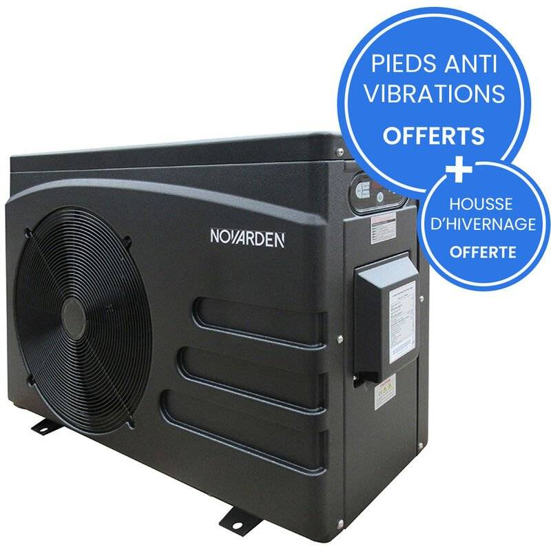 NOVARDEN Pompe à chaleur de piscine NOVARDEN NSH125i avec technologie Inverter
