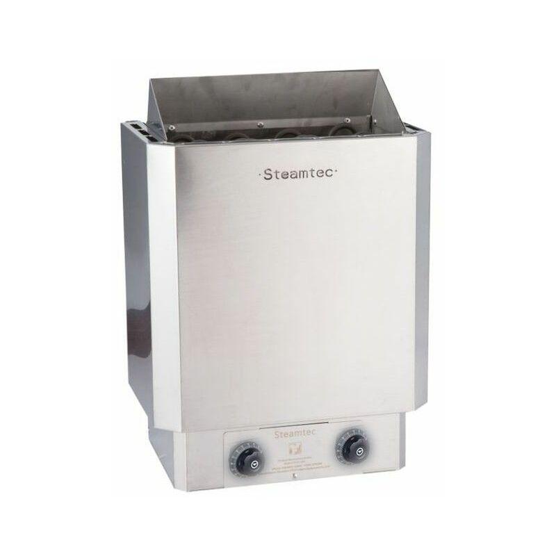 Desineo - Poêle à sauna 9 Kw premium avec commandes intégrées finitions