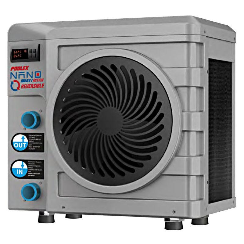 Poolex - Pompe à chaleur 3 kW Nano Action réversible spéciale piscine