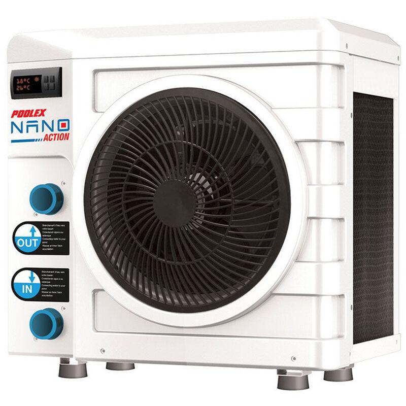 Poolex - Pompe à chaleur Nano Action 5 kW pour piscine hors-sol jusqu'à