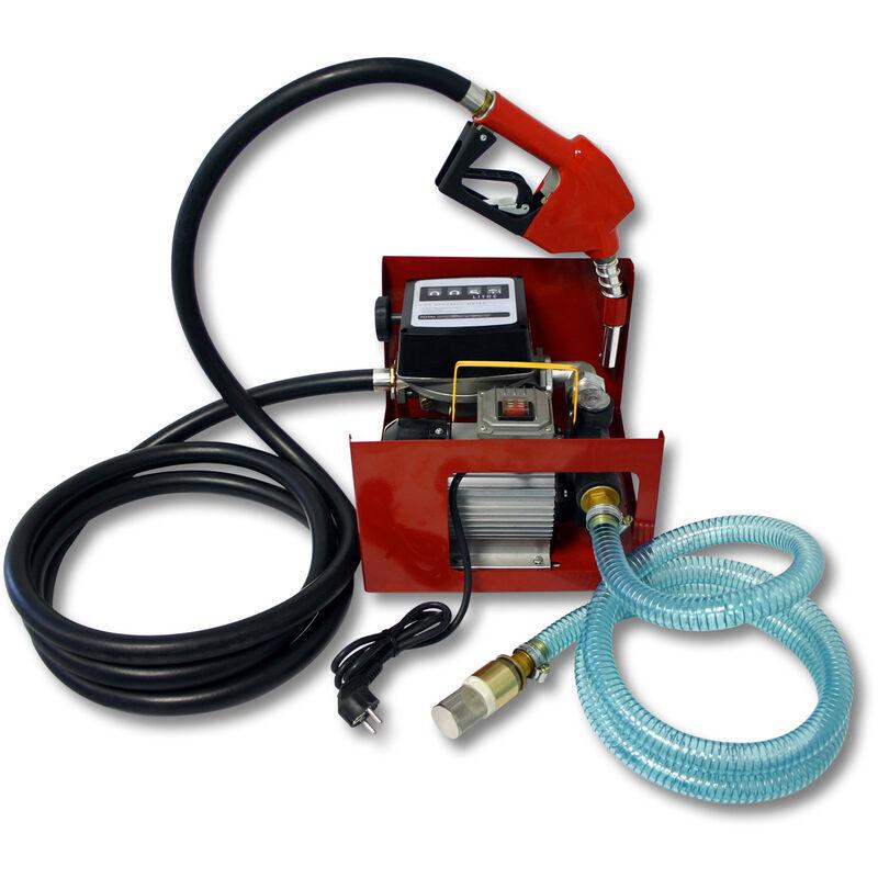 Wiltec - Pompe à Fuel ou Gasoil bio Autoaspirante 230V/550W 60l/min