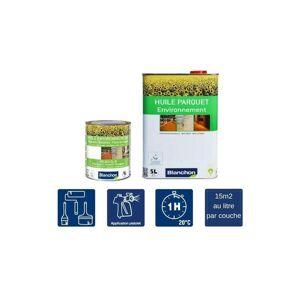 BLANCHON Huile Parquet Environnement 60 litres - - Blanchon - Publicité