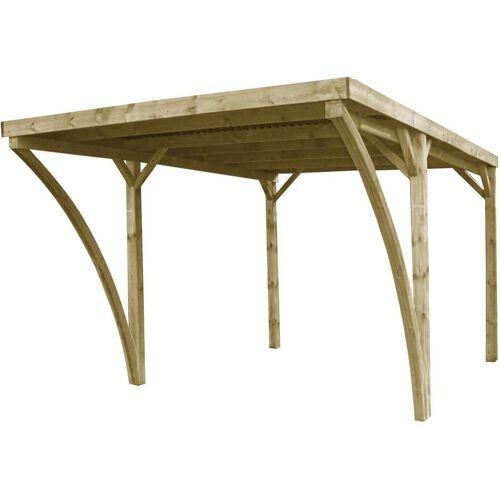 GARDENAS Carport en bois et pann...