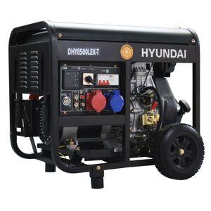 HYUNDAI E HYUNDAI Groupe électrogène diesel 8 kVA DHY8500LEK-T - HYUNDAI E - Publicité