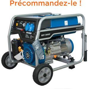 HYUNDAI Groupe électrogène essence 2800W HHY3000FK - Publicité