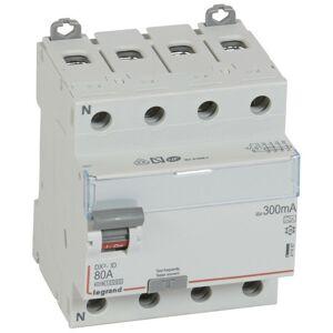 LEGRAND Interrupteur différentiel DX ID arrivée haute et départ bas à vis 4P - Publicité
