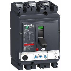 Schneider - NSX160F MICROLOGIC 2.2 160A 3P3D DISJONCTEUR COMPACT - Publicité