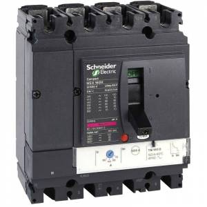 SCHNEIDER Nsx160N Tm125D 4P4D Disjoncteur Compact - Lv430861 - Publicité