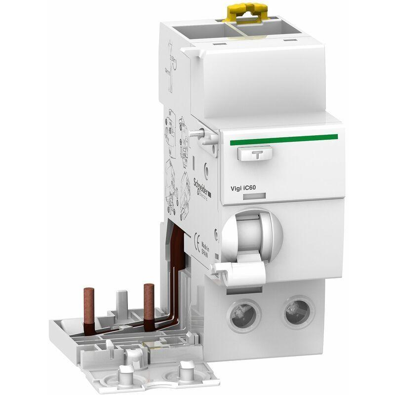 Schneider - Acti9, Vigi iC60 bloc différentiel 2P 63A 300mA sélectif
