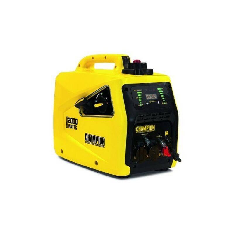 CHAMPION Groupe électrogène Inverter insonorisé 2235W 82001I-E-EU - Jaune