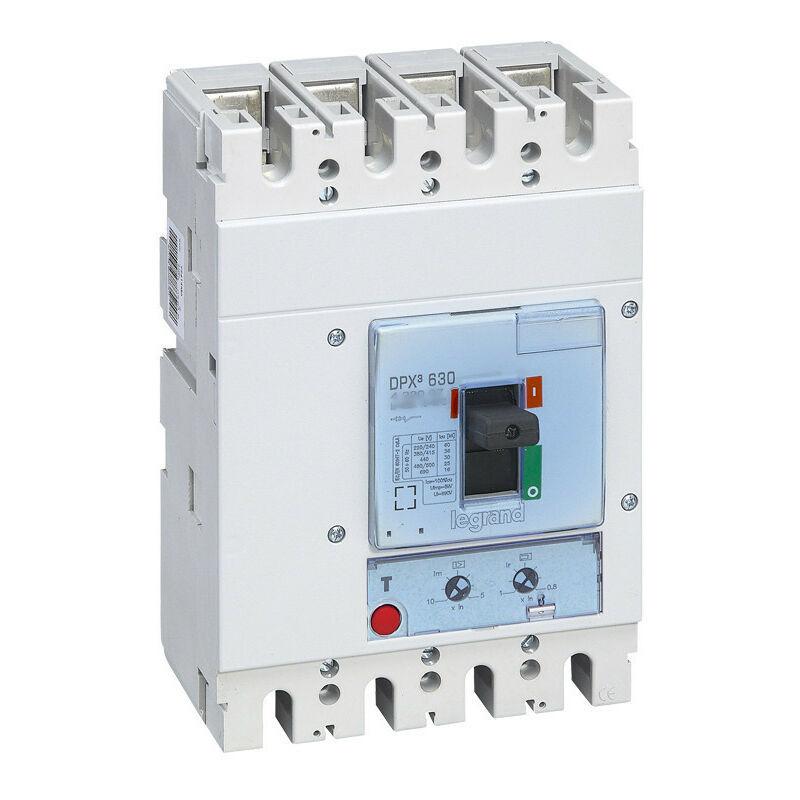 Legrand - Disjoncteur magnétothermique DPX630 pouvoir de coupure 36kA