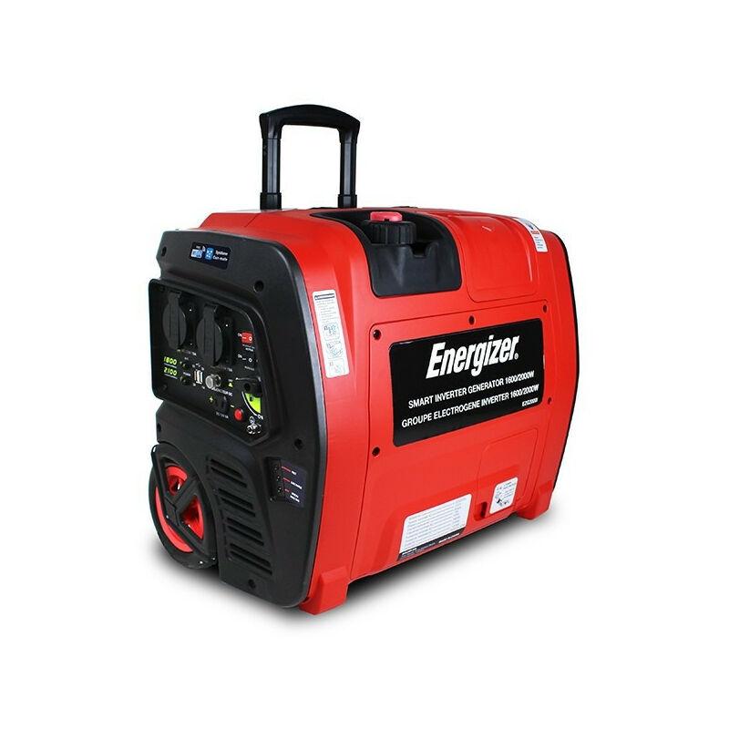 ENERGIZER Groupe électrogène essence Inverter 2100 W 1800 W - démarrage