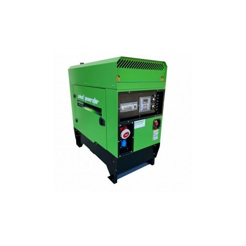 ENERGY+ ENERGY Groupe électrogène diesel 20 KVA 400V EY-20TDE-SA - Vert