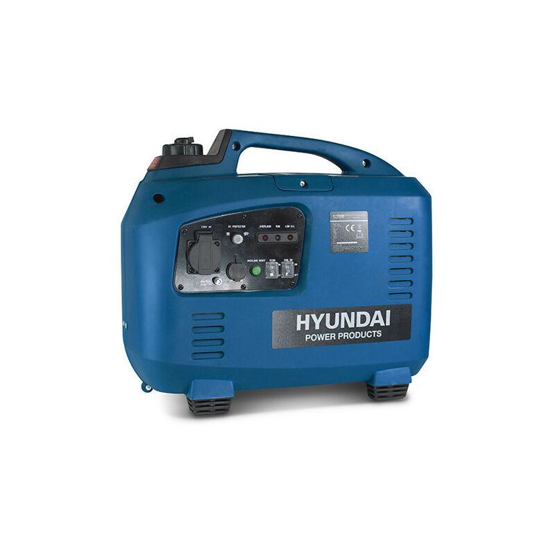 Hyundai - Groupe électrogène essence Inverter 2000 W 1700 W - démarrage