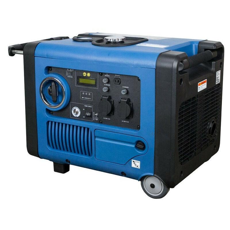 HYUNDAI Groupe électrogène Insonorisé Inverter déma élec 4000W HY4500SEI