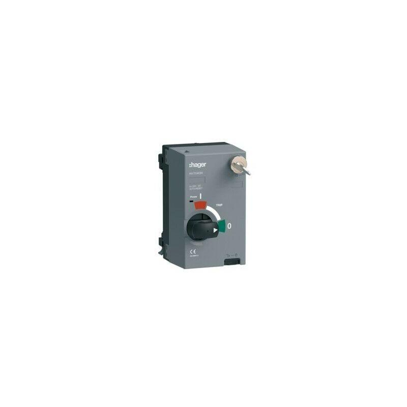 HAGER Mot.P250 200-220VAC/DC AR+clé - APPAREILLAGE DE TETE HAGER HXT045HK
