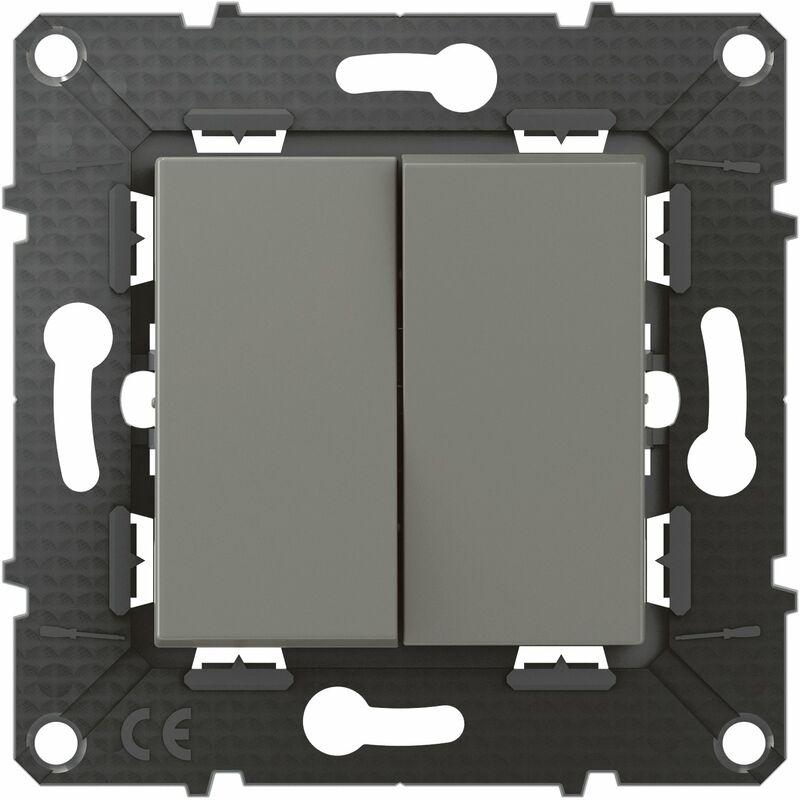 Legrand - Poussoir 6A + Interrupteur ou va-et-vient Altège - 10A