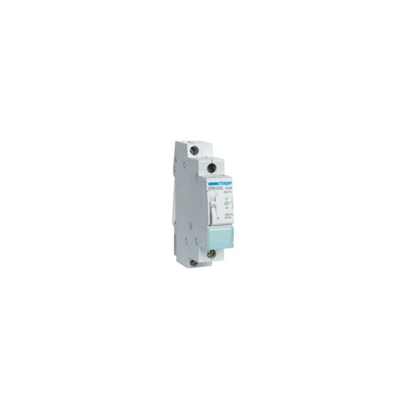 HAGER Télérupteur 16A 1F monophasé - EPN51 - Hager