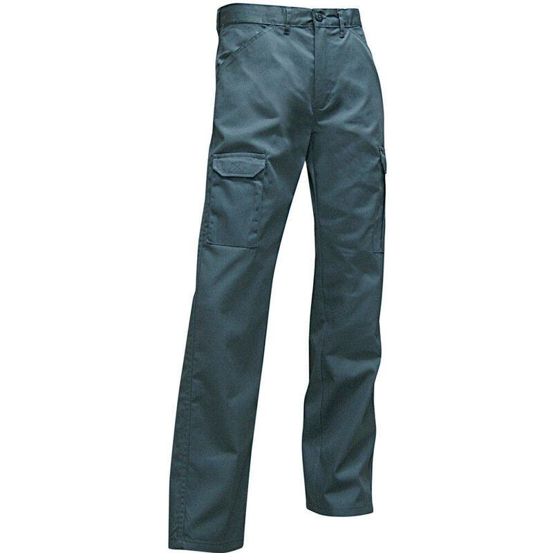LMA Pantalon de bricolage SCIE Vert Foncé 42 - LMA