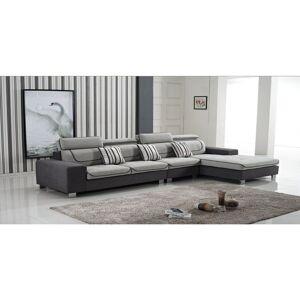 Cosy-tendance - Canapé Tissu avec Chauffeuse COSY 857 - 369*185*90 cm - Publicité