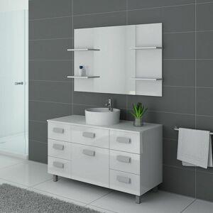 DISTRIBAIN Meuble de salle de bain IMPERIAL Blanc - Publicité