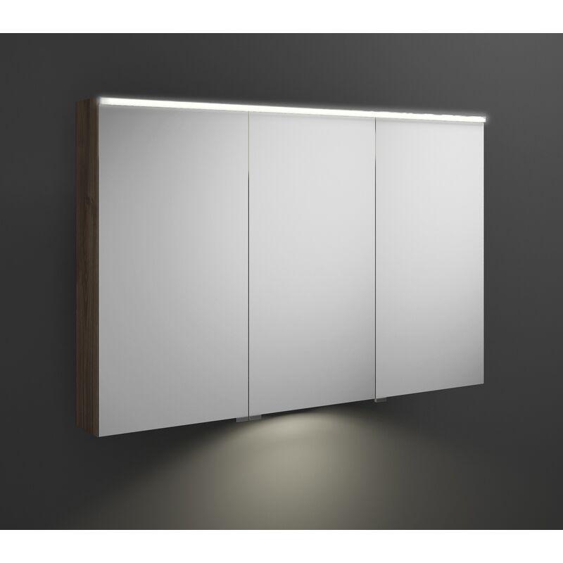 BURGBAD Armoire de toilette Burgbad Eqio avec éclairage LED horizontal et