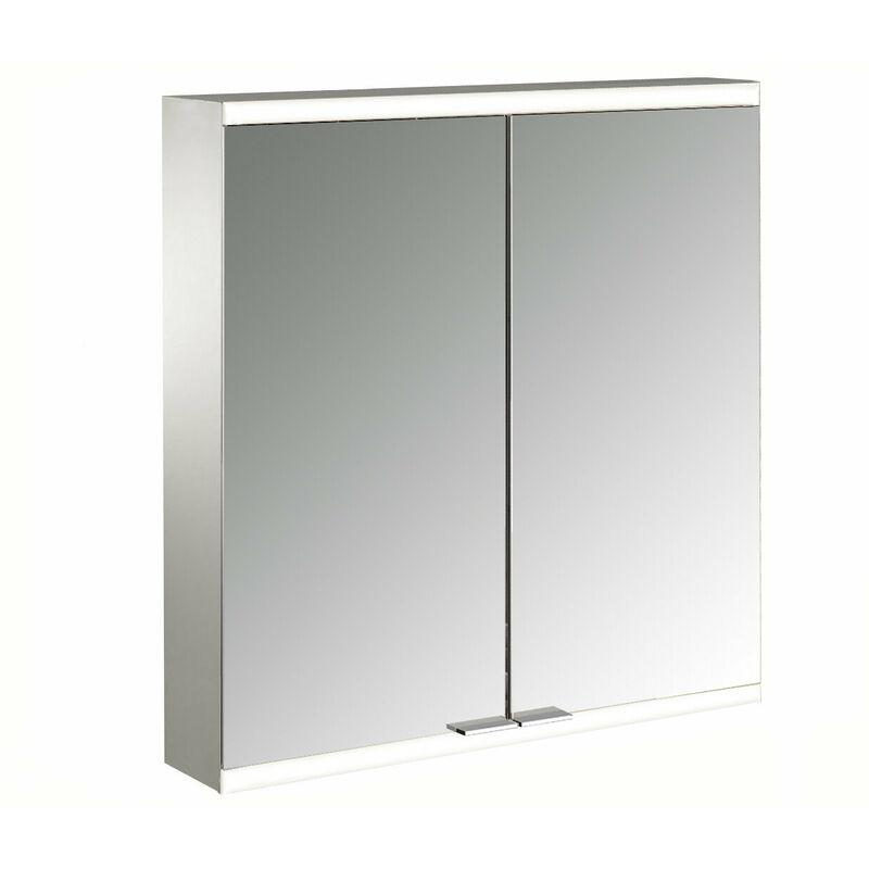 EMCO Armoire de toilette lumineuse prime 2, 600 mm, 2 portes, modèle