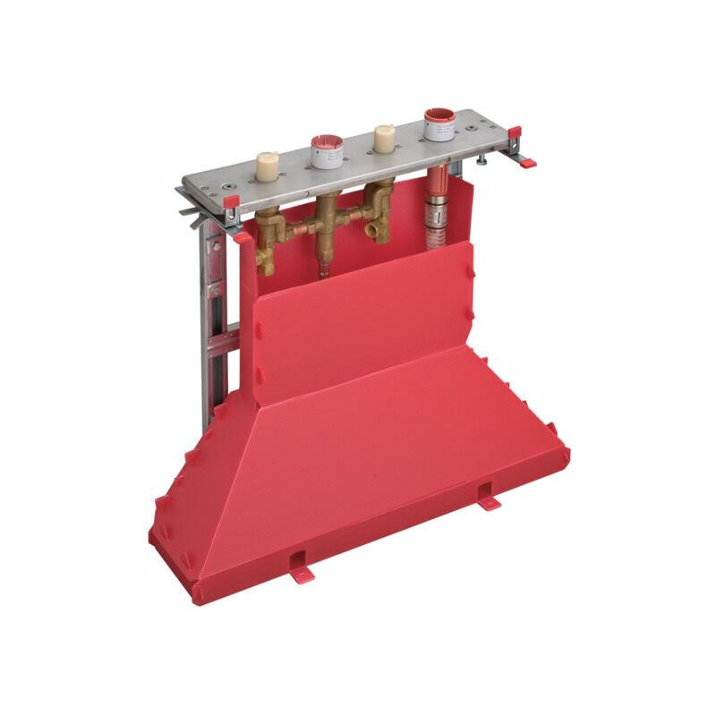 Hansgrohe AXOR corps de base pour bordure de carrelage à 4 trous