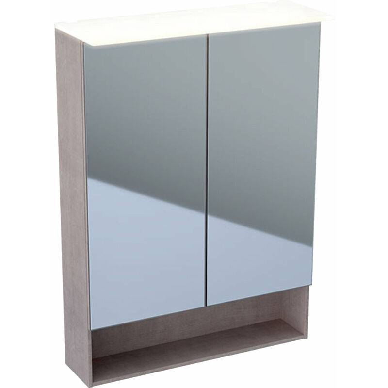 KERAMAG Armoire de toilette Acanto 500644, 595x830x215mm - 500.644.00.2