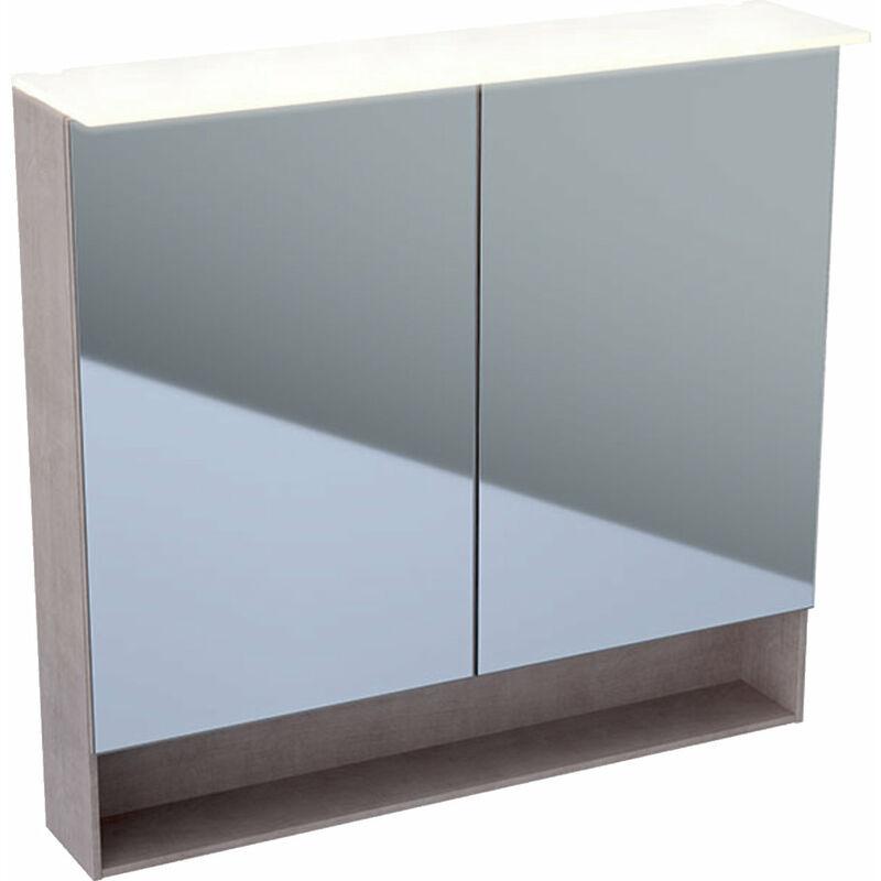 KERAMAG Armoire de toilette Acanto 500646, 890x830x215mm - 500.646.00.2