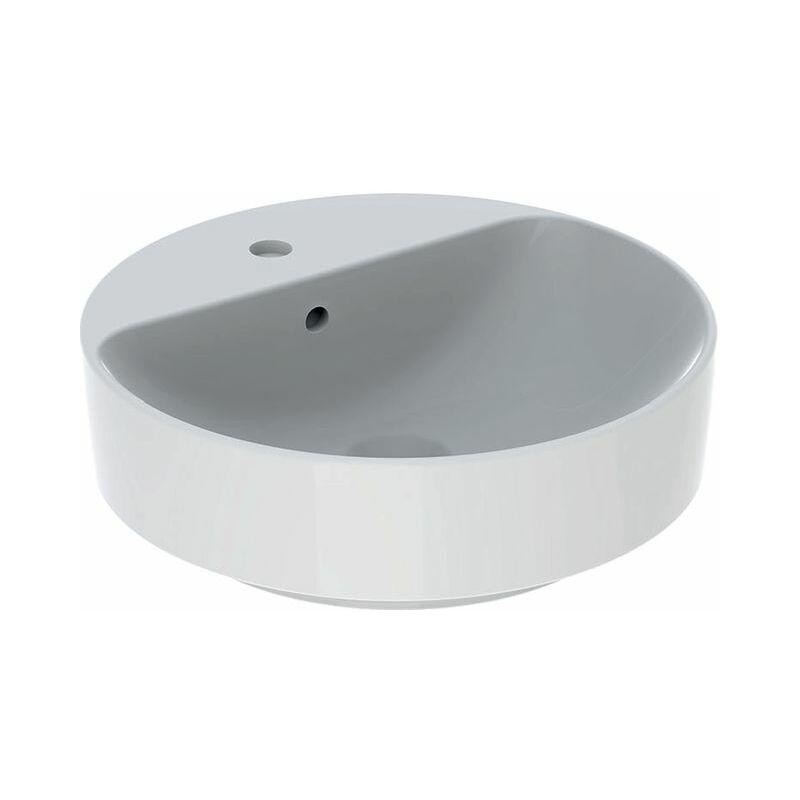 Keramag VariForm Lavabo à poser rond, 450mm, avec trou pour robinet,