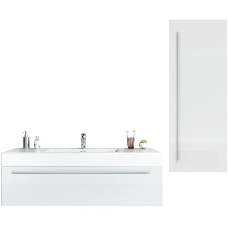 BADPLAATS Meuble de salle de bain Garcia 120 cm Chene clair - Élément bas Élément