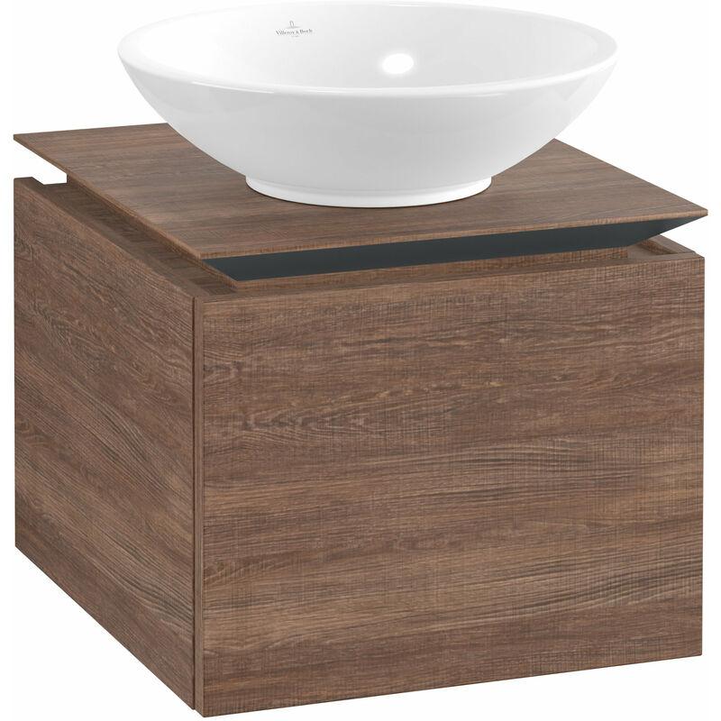 VILLEROY UND BOCH Meuble sous-lavabo Villeroy & Boch Legato B100, 450x380x500mm, central