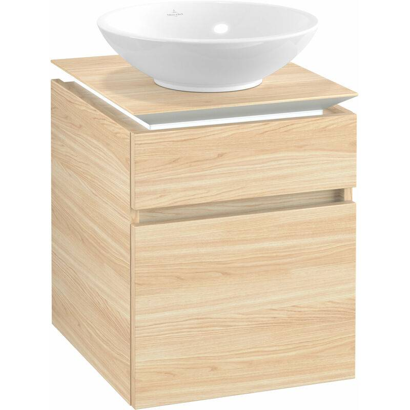 VILLEROY UND BOCH Meuble sous-lavabo Villeroy & Boch Legato B120, 450x550x500mm, centre