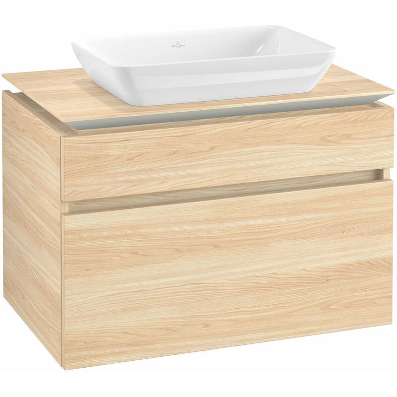 VILLEROY UND BOCH Meuble sous-lavabo Villeroy & Boch Legato B22800, 800x550x500mm, centré