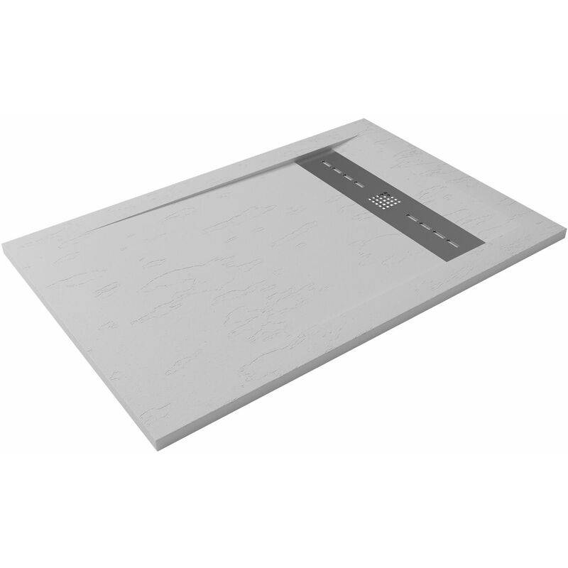 Hidronatur - Receveur de douche extra-plat RUBI 90x140 blanc