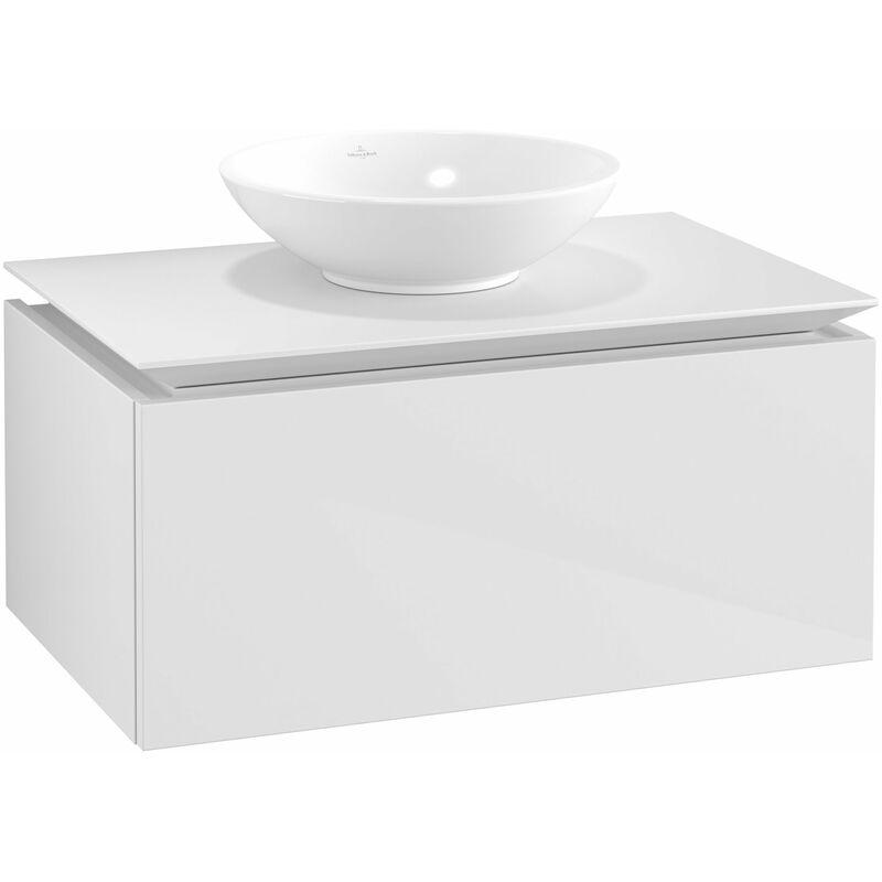VILLEROY UND BOCH Villeroy & Boch Legato Meuble sous-lavabo B10300, 800x380x500mm,