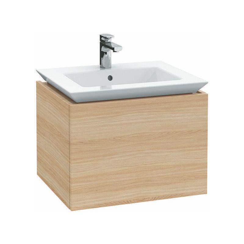 VILLEROY UND BOCH Villeroy & Boch Legato Meuble sous-lavabo B221, 800x425x500mm, vasque