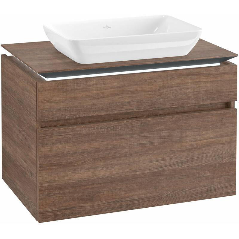 VILLEROY UND BOCH AG Villeroy & Boch Legato Meuble sous-lavabo B228L0, 800x550x500mm, Centre