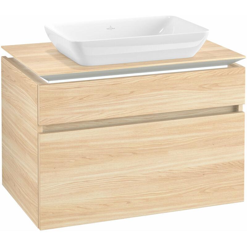 VILLEROY UND BOCH Villeroy & Boch Legato Meuble sous-lavabo B228L0, 800x550x500mm, Centre