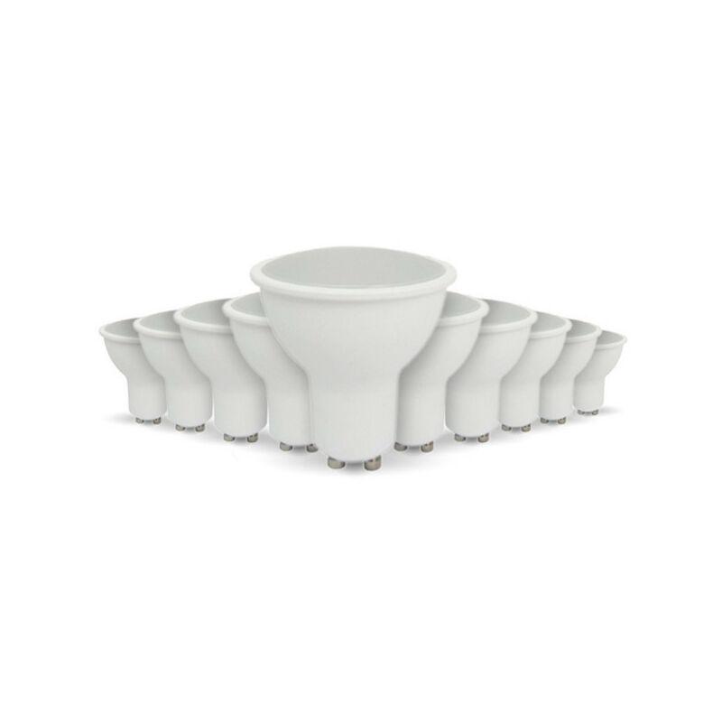 ARUM LIGHTING Lot de 10 ampoules LED GU10 5W eq 40W   Température de Couleur: Blanc