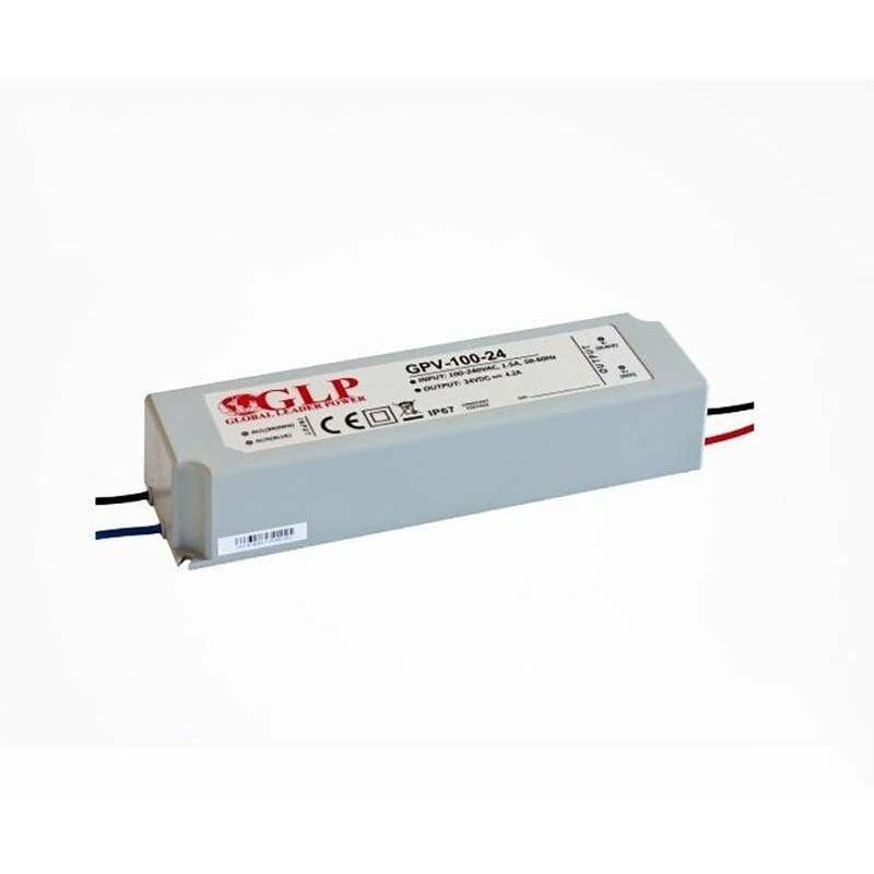 Global Leader Power - Alimentation LED DC 24V 100W étanche IP67