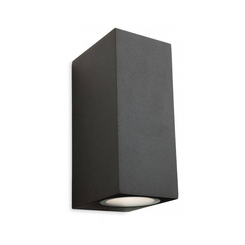 FIRSTLIGHT Applique 2 ampoules Capital, graphite