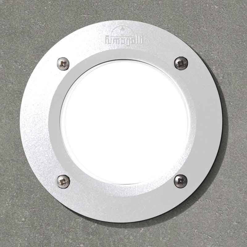 FUMAGALLI Spot LED encastrable extérieur LETI 100 3W 4000K IP66 Blanc - Fumagalli