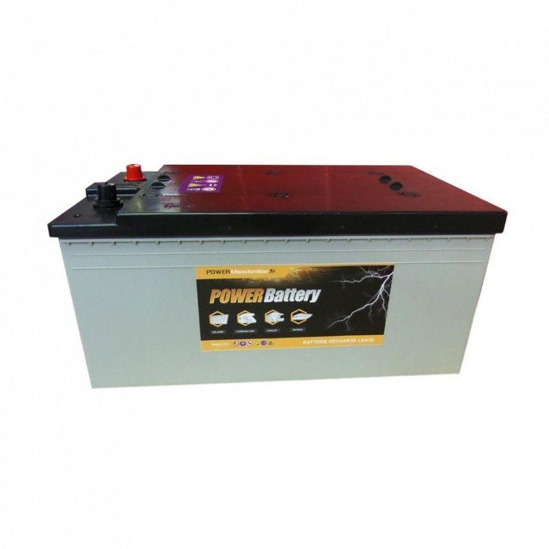 POWER BATTERY Batterie décharge lente AGM Power Battery 12v 195ah